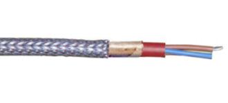 SiHF-P силиконовый, стальная оплетка, без галогена