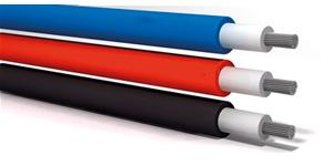 1.5 луженый Tuv солнечный EN50618 H1z272 – k кабель для фотовольтаических систем, с эластомерной изоляцией и оболочкой, не распространяющий горение, без галогена и устойчивый к солнечной радиации and UV resistant.